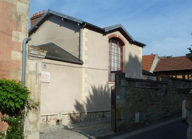 Maison vue de la rue Daubigny