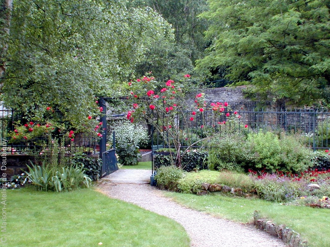 Maison atelier de daubigny for Vers du jardin